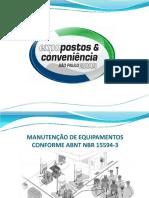 Mecânica - Manutenção Postos de Combustíveis - NBR 15594-3