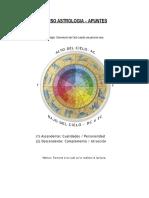 CURSO ASTROLOGIA - APUNTES