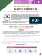 05 Nomenclatura de Compuestos Inorganicos
