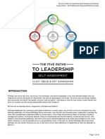 5 paths to leadership results
