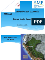 Presentacion Del Sr Romulo Mucho
