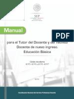Manual Para El Tutor Básica