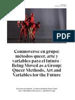 Conmoverse en Grupo Metodos Queer, Arte y Variables Para El Futuro