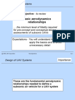 UAV Aerodyanamic Design