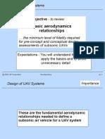 UAV Aerodyanamic Design