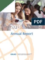 Daad Jahresbericht 2015 En
