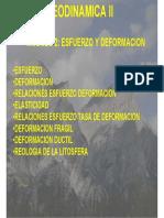 deformacion geodinamica