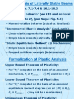 Plastic Analysis -- 8