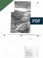 Valuacion Agropecuaria - Valuacion Predios Rurales