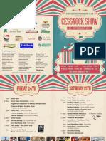 Cessnock Show Program
