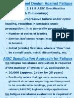 Fatigue Design -- 6