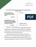 74353-8 Deegan & O'Grady vs. WINDERMERE REAL ESTATE Opinion