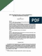 Espectro Biologico de La Flora Pteridofitica de Chile Continental (Godoy, 1989)