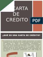 Carta de Credito-banca