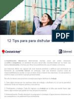 12 Tips Para Para Disfrutar Tu Trabajo