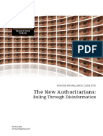 The New Authoritarians Ruling Through Disinformation June 2015 PDF