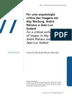 Por uma arqueologia crítica das imagens em Aby Warburg, André Malraux e Jean-Luc Godard