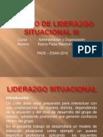 Modelo de Liderazgo Situacional