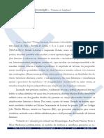 Carvalho Rodrigues Apresentação Revista Fólio
