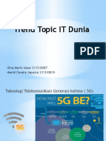 Trend Topic IT Dunia