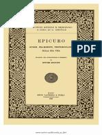 [Epicuro, A Cura Di Ettore Bignone] Opere, Frammen(BookZZ.org)