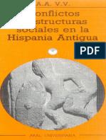 (Varios) Conflictos y Estructuras Sociales en La Hispania Antigua