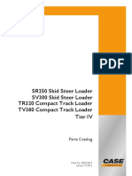 Case SR250, SV300 Skid Steer LoaderTR320, TV380
