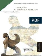 (Varios) Política y Religión en El Mediterráneo Antiguo. Egipto, Grecia y Roma