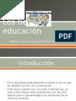 Los Tics en La Educación