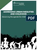 Urban inequities