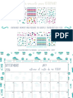 Version Todo Color Calendario 2016 2017 Cristina Castro Cabedo