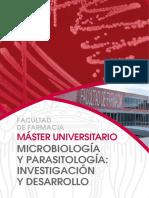 Máster UCM en Microbiología y Parasitología