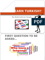 why learn turkish