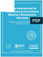 Codigo Internacional de Comercialización de Sucedáneos de La Leche Materna