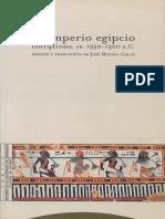 El Imperio Egipcio Inscripciones Jose Galan