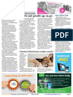 Pharmacy Daily for Wed 22 Feb 2017 - EBOS profit up, research licence issued, Choosing Wisely, MedAdvisor, new products