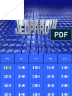 HEENT Jeopardy 2016