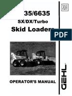 5635 DX Operator Manual