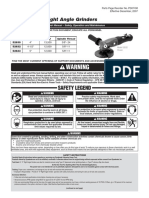 Dynabrade Right Angle Grinder.