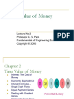 Lecture-No2 Time Value of Money