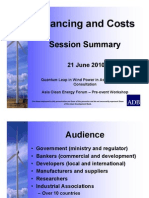 6.1. Session - Financing and Costs