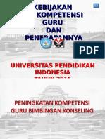 Kebijakan Pengembangan Profesi Guru - Plpg 2014 Bagian 2