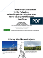 7.2. Status of Wind Power Development in the Philippines and Drafting of the Wind Power Roadmap by v. Perez