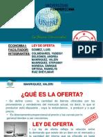 Ley De Oferta