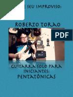 Guitarra Solo Para Iniciantes - Pentatonicas (Apostila)