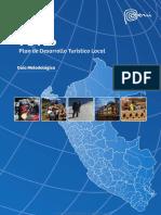Guía Metodológica Para La Elaboración Del Plan de Desarrollo Turístico Local (PDTL)