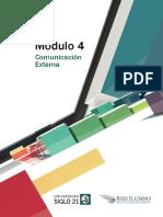 M4 - L15 - Planificación de La Comunicación Externa