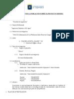 Nivel de Informacion de La Poblacion Sobre El Proyecto Minero Conga