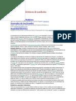 Instrumentos Eléctricos de Medición
