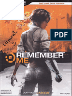 Remember Me (Official Bradygames Guide)